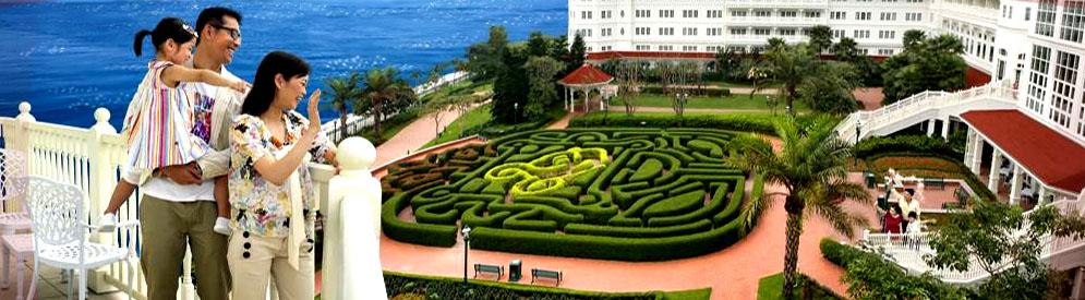 香港迪士尼樂園門票入場劵優惠酒店自助餐套票 hong kong disney hotel buffet package