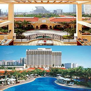 澳門金麗華酒店macau grand lapa hotel mandarin buffet package 住宿自助餐船票套票