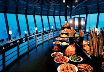 澳門旅遊觀光塔下午茶自助早午晚餐門票入場券連來回船票特價格優惠套票 macau tower breakfast lunch dinner tea buffet package